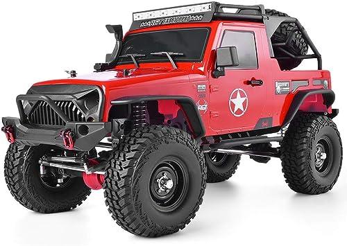 RGT RC Crawler 1/10 Scale 4WD RC Rock Crawler Carbon Fiber Frame 2.4GHz RC