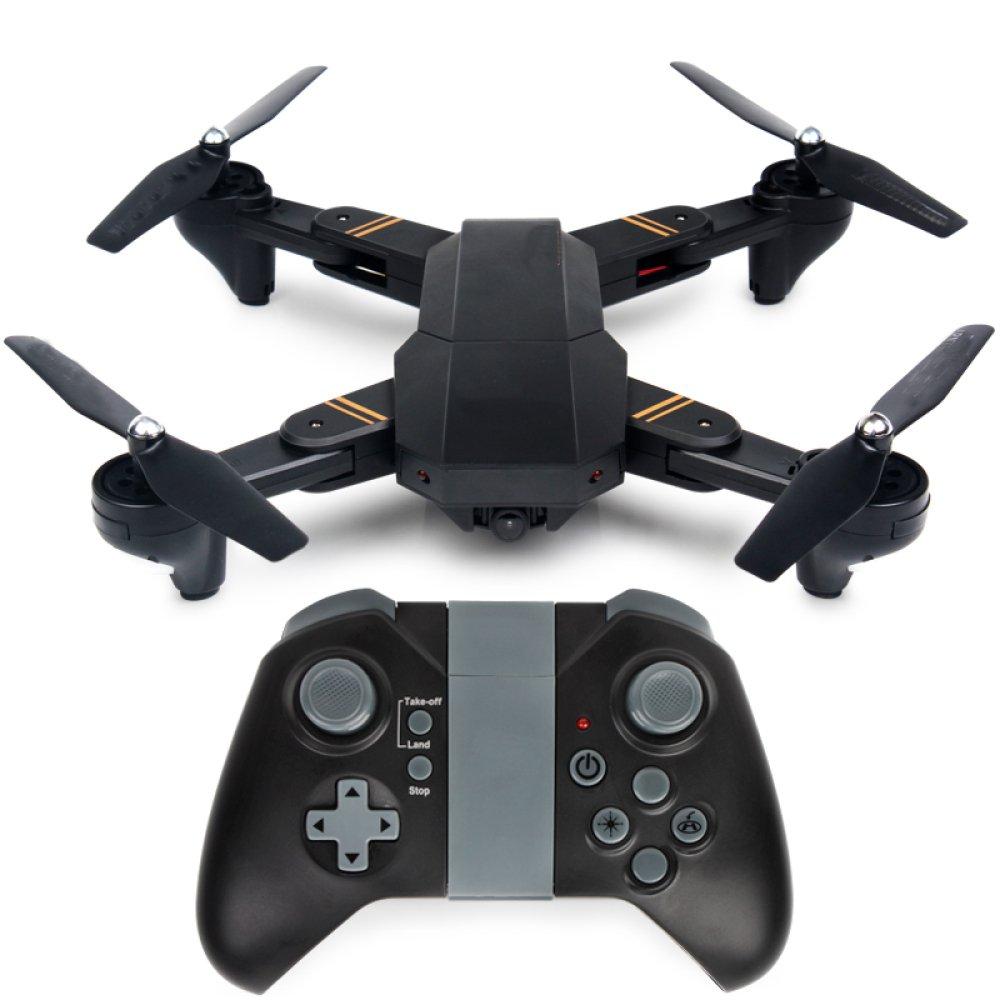 ZCXCC Drohne Faltbare RC Drone Mit 2MP HD Kamera 720 P WIFI Live Video 2 4 Ghz 6 Achsen Gyro Quadcopter Mit Höhe Halten Headless Modus Und 3D Flips (senden  VR Gläser) 2Batteries