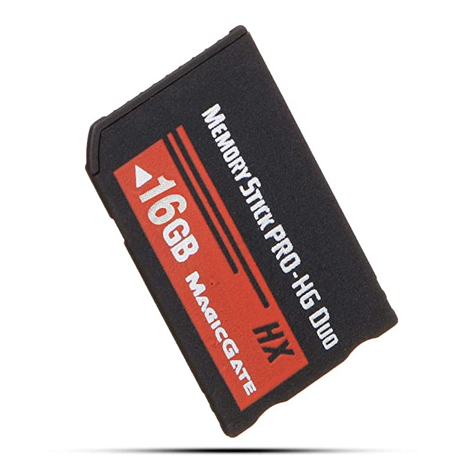 XBERSTAR High Speed Memory Stick MS Pro Duo Memory Card for Sony 8GB 16GB 32GB PSP and Cybershot Camera 32G