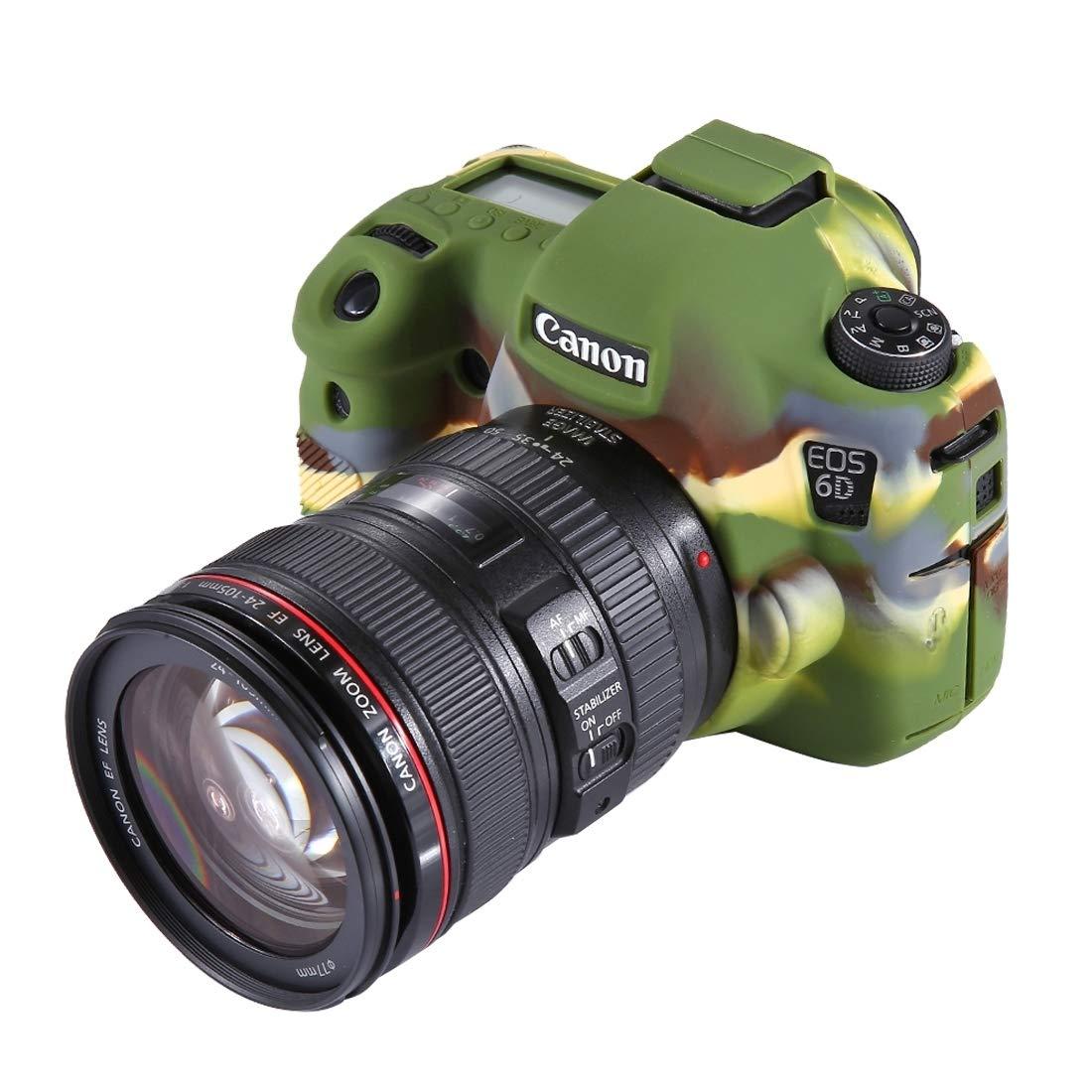 カメラケース ソフトシリコン保護ケース Canon EOS 6D用 (サイズ : Pu7101a)   B07MTCX3DZ
