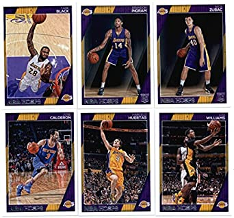 2be22af1201 2016-17 Panini NBA Hoops Los Angeles Lakers Team Set of 11 Cards  Luol Deng( 47)