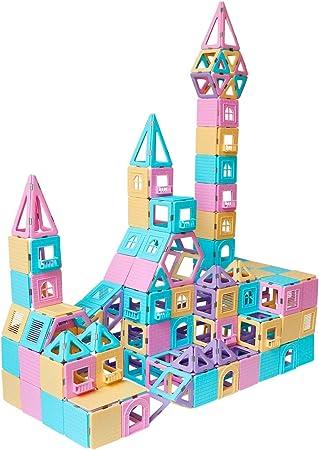 103pcs Magnetic Toy Building Blocks Set 3D Tiles DIY Toys Great Gift For Kids