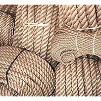Cuerda de yute natural, 5 mm, por metro