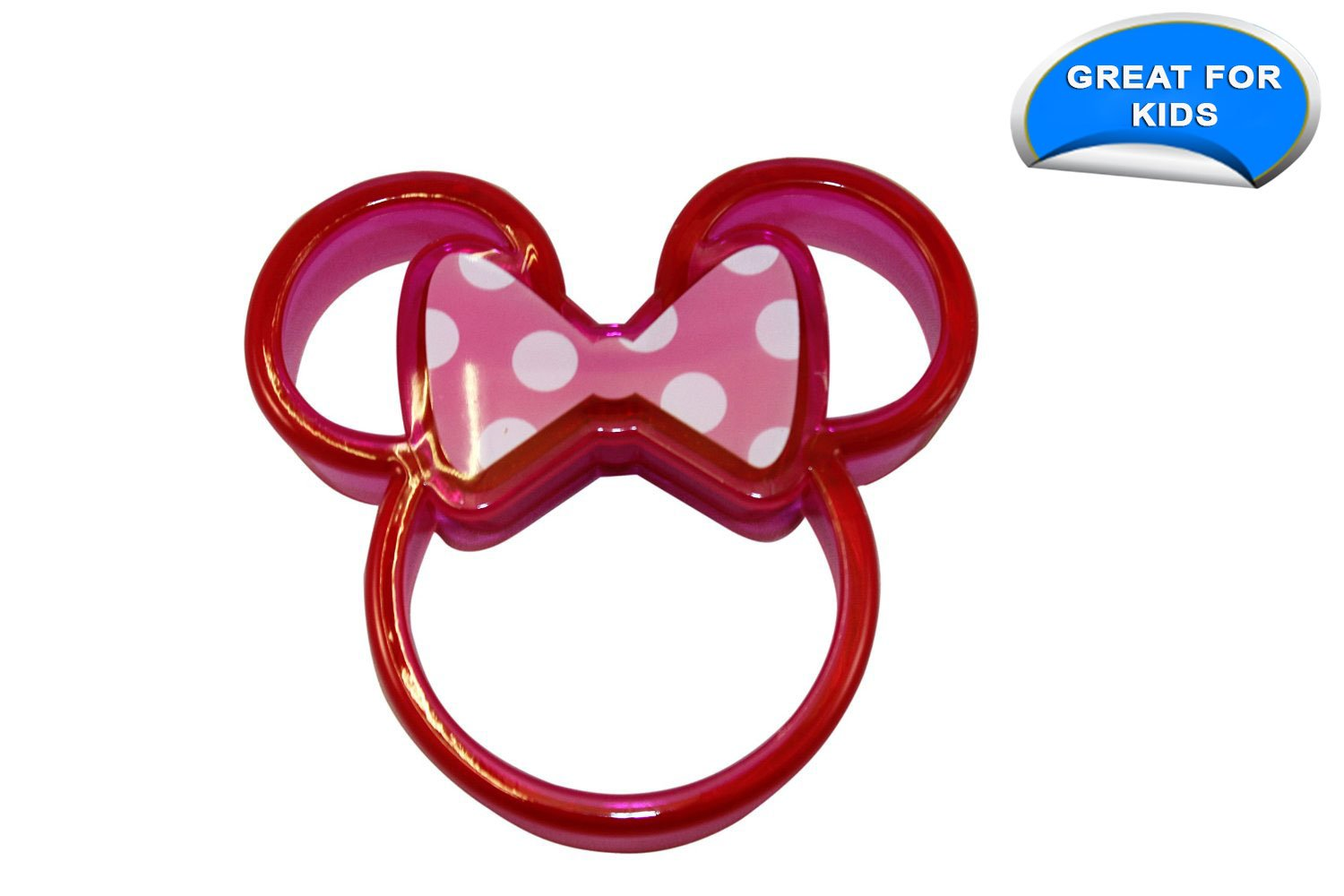 Amazon.com: Disney Minnie Mouse Sandwich Crust Cutter, Pack of 3 ...