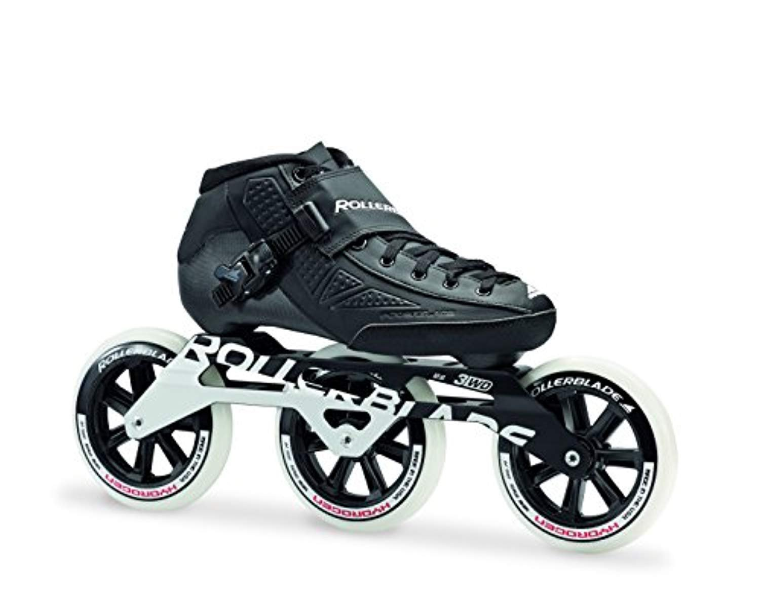 Rollerblade Powerblade Elite 125 Skates Black 26.5 & Headband Bundle