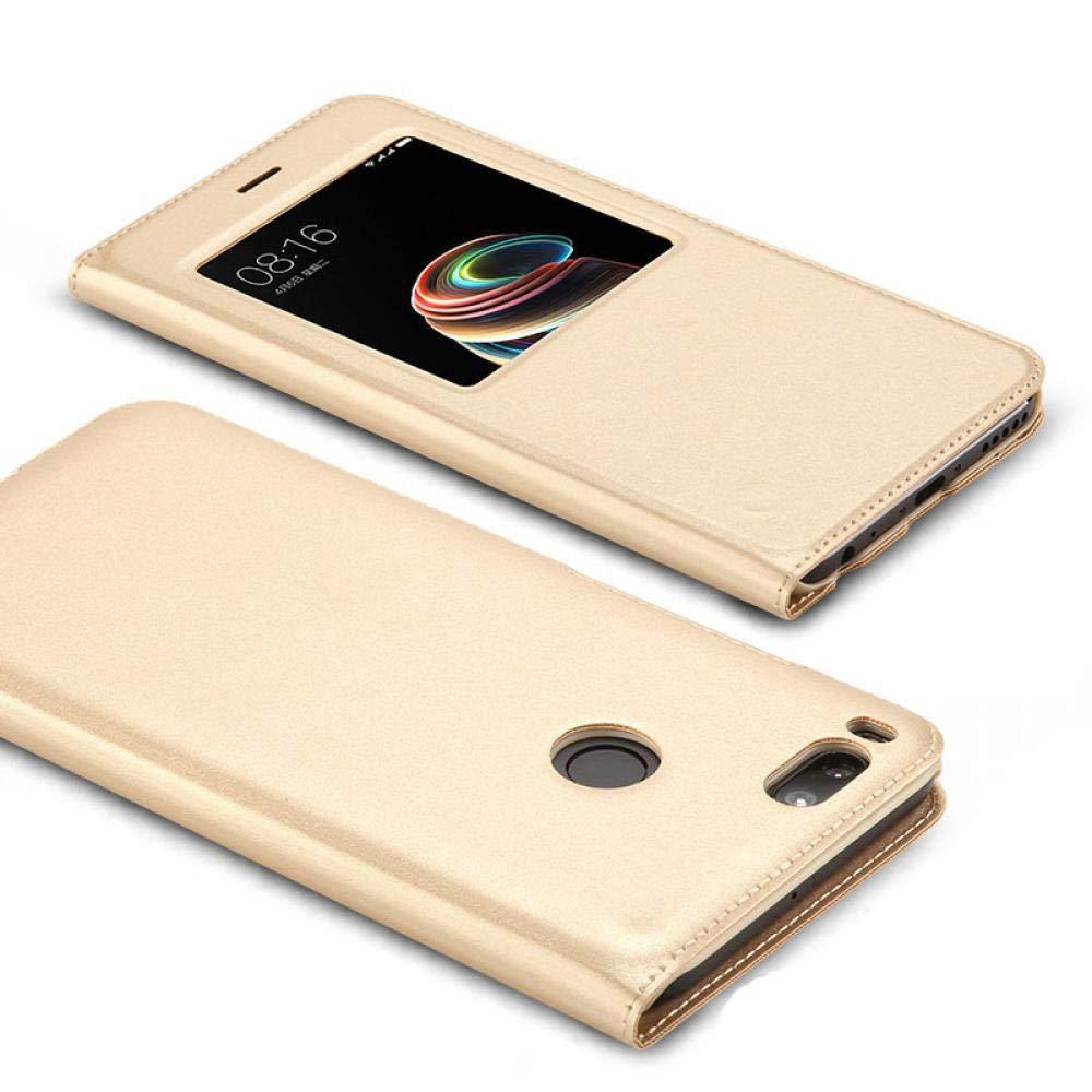 Amazon.com: Funda con ventana abierta para Xiaomi Redmi Note ...