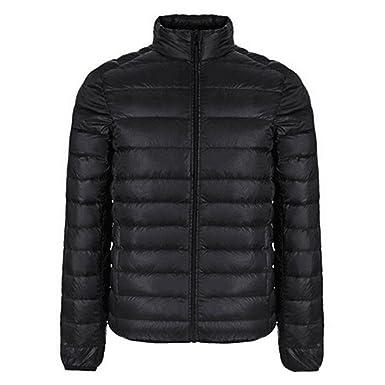 Winter Jacket Men New Couples Coats Ultra-light Slim Fit Stand-Collar Cotton-