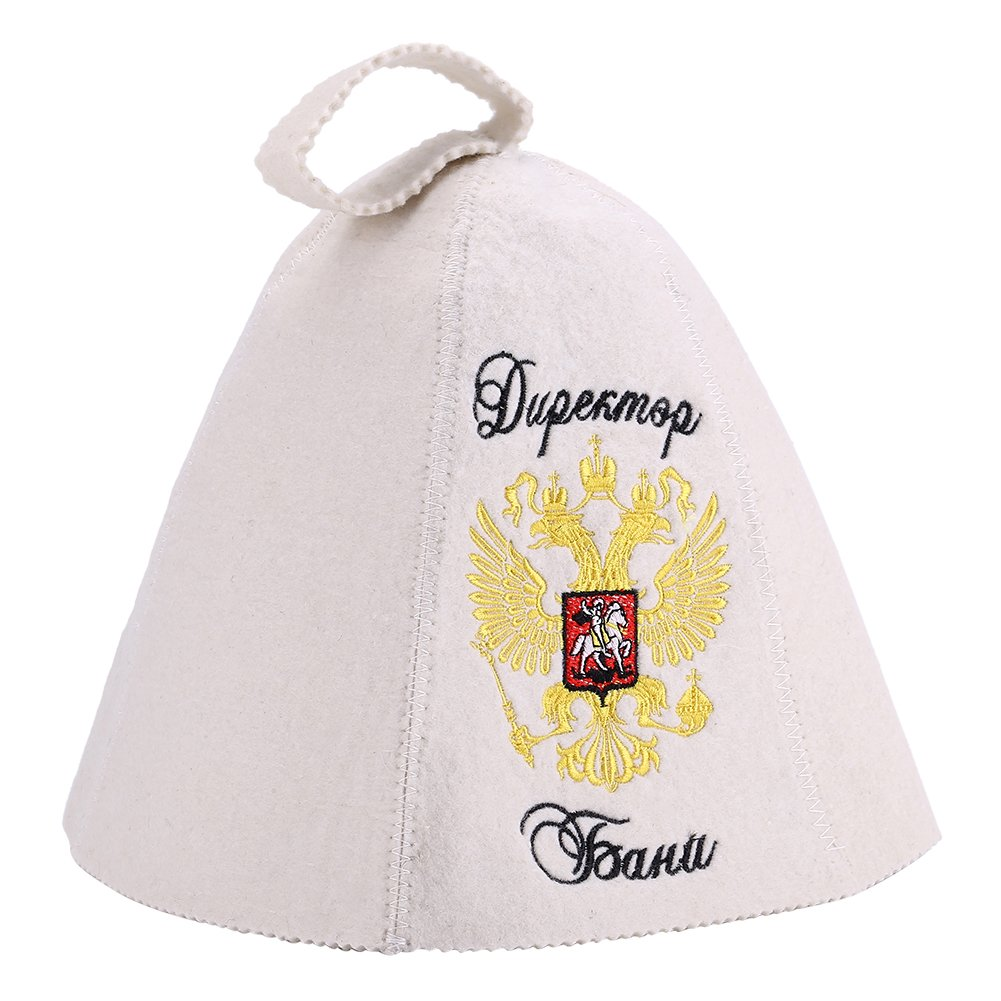 Wool Sauna Hat Russian Style Head Protection Accessories for Steaming Bathing FTVOGUE