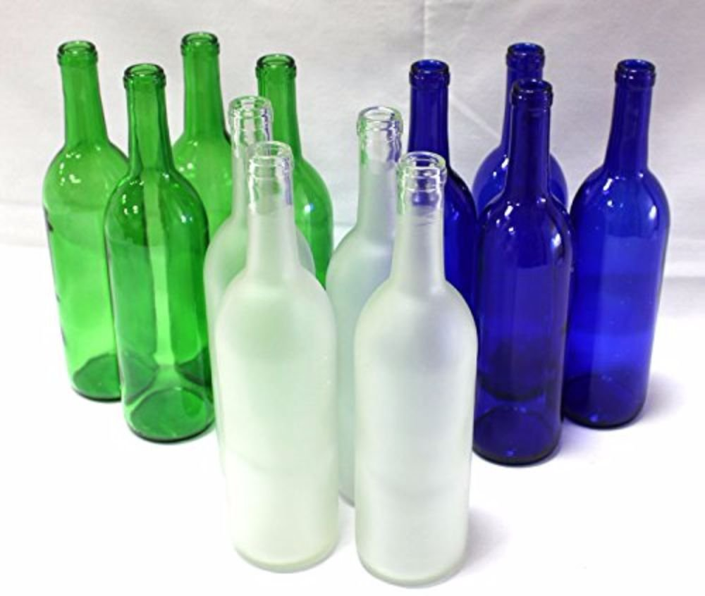 Home Brew Ohio Multi-Colored Bottles For Bottle Tree-Nature Variety