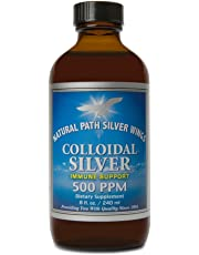 Colloidal Silver 500ppm Natural Path Silver Wings 8 oz Liquid by Natural Path Silver Wings