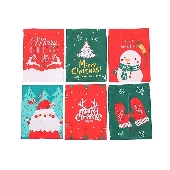 BESTOYARD Caja de pañuelos navideños Porta servilleta dispensador Regalo de decoración de Navidad Creativo: Amazon.es: Juguetes y juegos