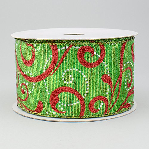 2.5 Wide Expressions Metallic Green Lam