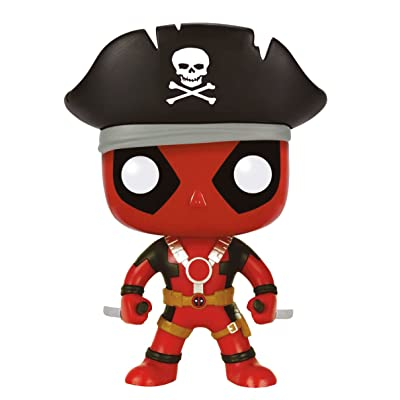 Funko Marvel Pirate Deadpool Pop Vinyl Exclusive No. 113: Toys & Games [5Bkhe1300262]
