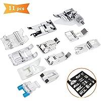 XCOZU - Juego de 11 prensatelas para máquina