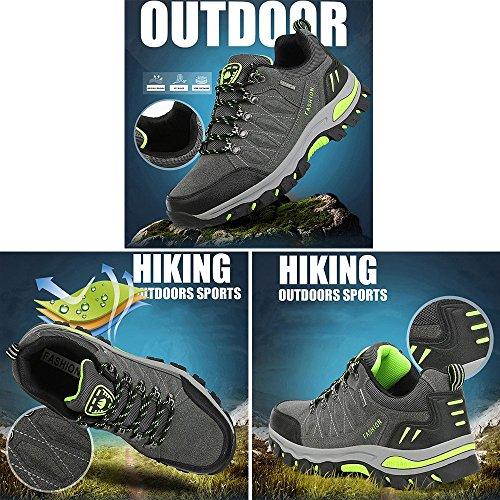 Trekking Uomo Escursionismo All'aperto Viola da WOWEI da Sportive Donna Scarpe Sneakers Arrampicata nqYvvT7