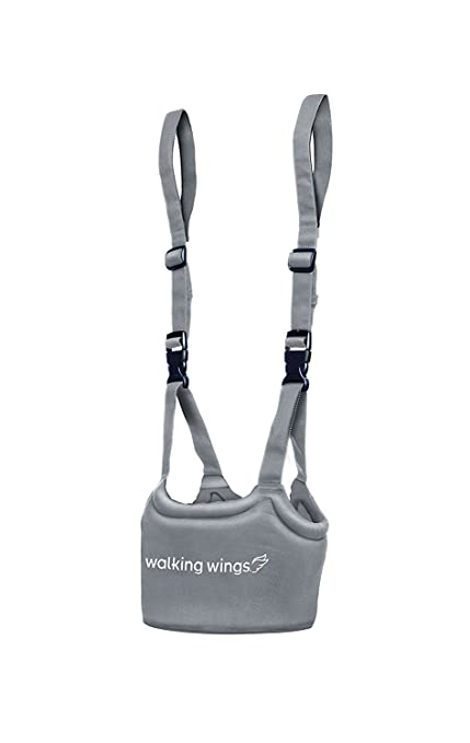 UpSpring Baby Caminar alas están aprendiendo a caminar y asistente del arnés del niño, gris