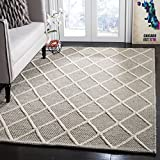 Safavieh Natura Collection NAT310C Hand-Woven Grey Area Rug (5′ x 8′) Review