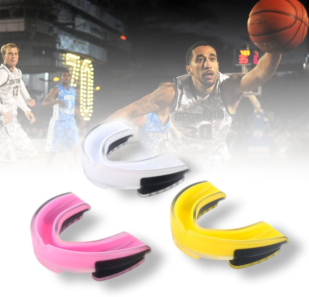 karate Dientes Guard deportes de f/útbol Protector de dientes de baloncesto para exteriores de silicona para boxeo hockey herramienta de protecci/ón de dientes