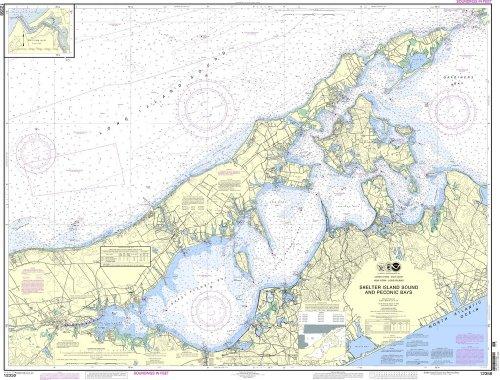 NOAA Chart 12358: New York Long Island, Shelter Island Sound and Peconic Bays;Mattituck Inlet