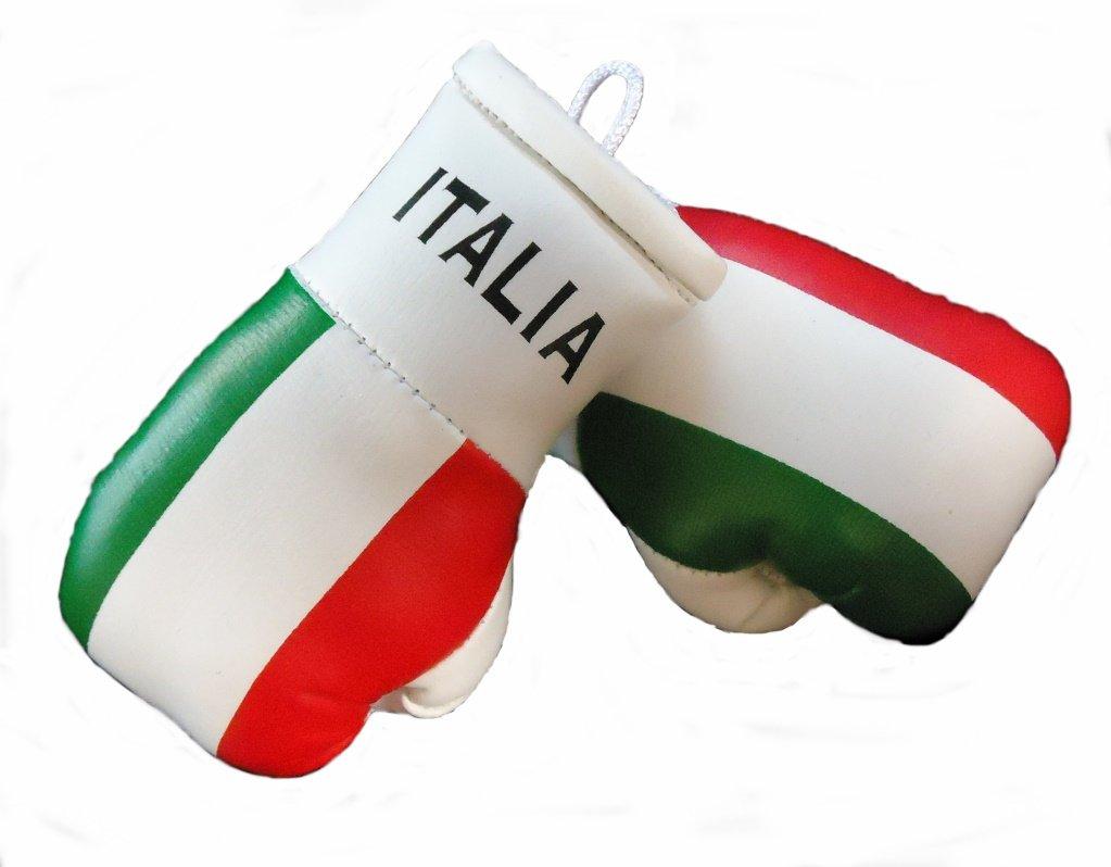 dise/ño de Italia Guantes peque/ños de boxeo para retrovisor interior del coche 2 unidades
