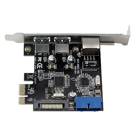Homyl PCI-E A USB 3.0 3 Puertos USB 3.0 HUB A PCI-E Express ...