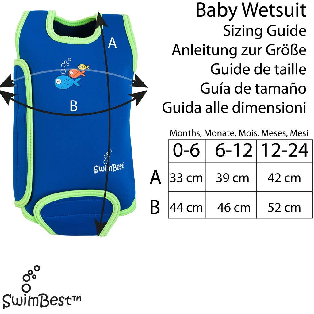 Swimbest Traje de baño Baby, 3 tamaños, 5 Colores: Amazon.es: Ropa ...