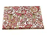 Triple Toggle Switch Plate Pink Paisley (099T)