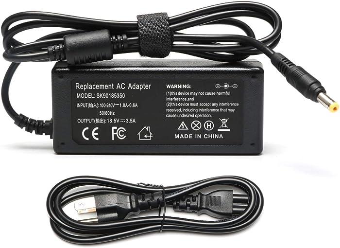 65W AC Power Adapter Cord/Charger for HP Compaq Presario C300 C500 C700 A900 Pavilion 2500 DV6000 DV9100 DV9000 DV5000 DV2000 Battery Supply