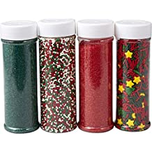 Wilton Holiday Sprinkles 4-Pack (1.2 lb)