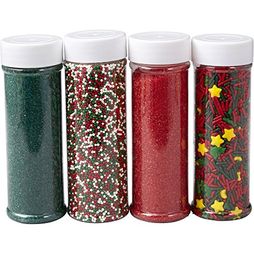 Wilton Holiday Sprinkles 4-Pack (1.2 lb) -