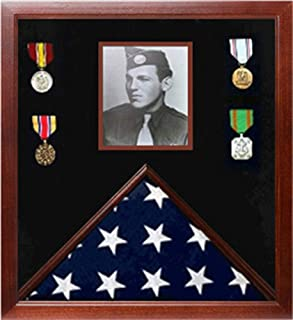 product image for Photo Flag and Medal Display Case, Flag and Photo Frame.