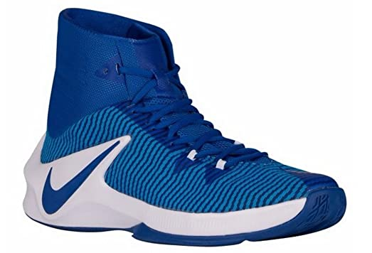 Nike Zoom Clear Out Basketball Shoes Sneakers Sz 9.5 Royal Blue 844372-444