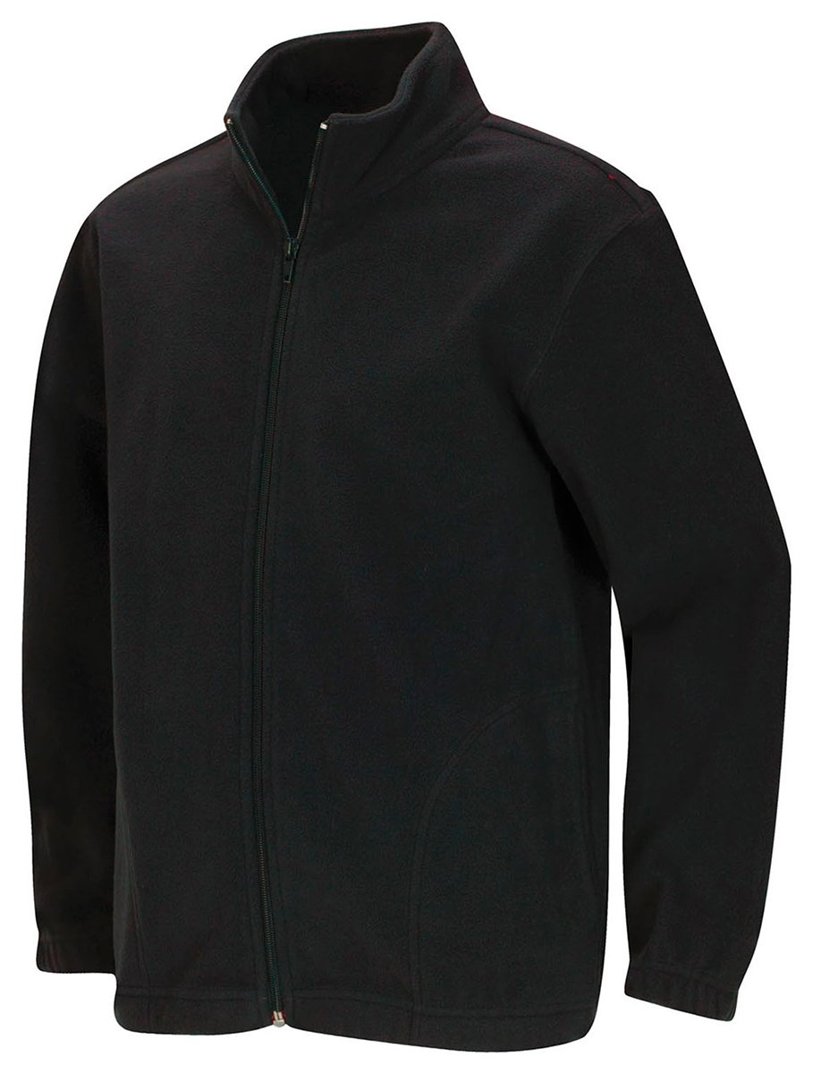 Classroom Uniforms CLASSROOM Youth Unisex Polar Fleece Jacket, Black, Large