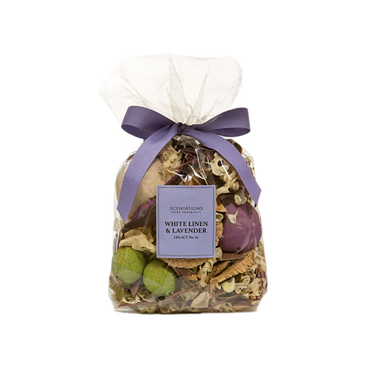 Scentations Potpourri - White Linen & Lavender Legacy No. 07, Scented, 8 oz Bag by Scentations