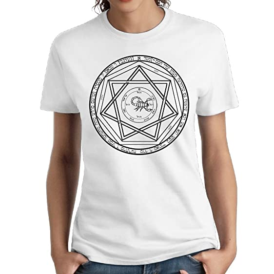 Amazon Devils Trap Anti Demonic Symbol Female Fashion Designed