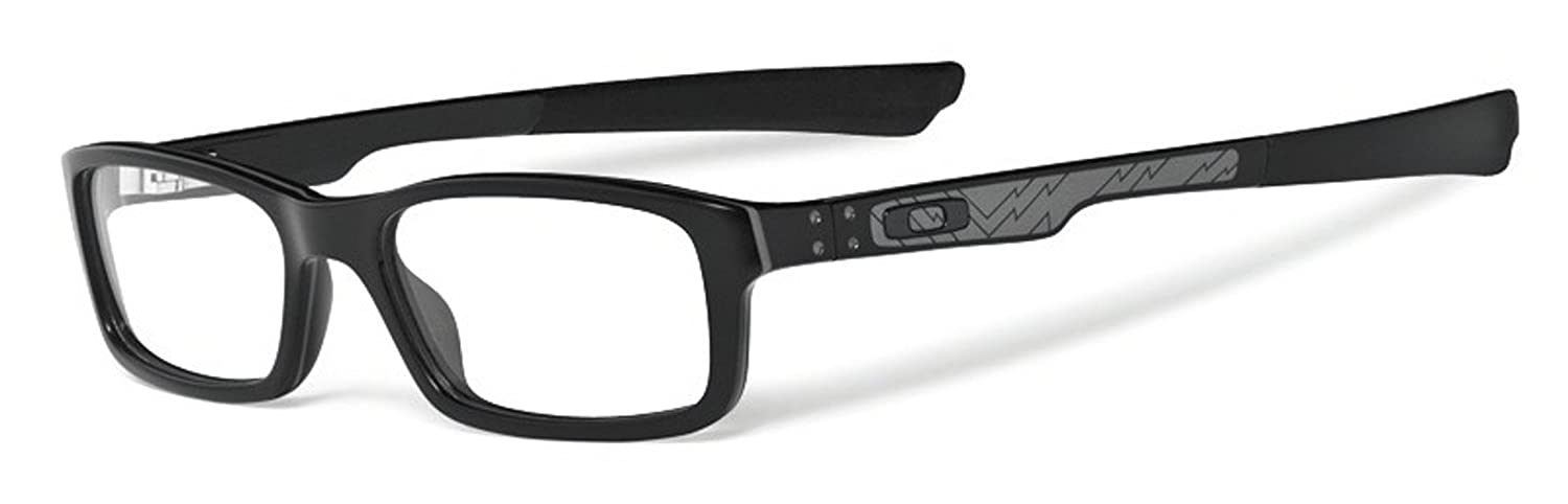 ac2e3e4661c Amazon.com  Oakley Bucket Man s Eyeglasses Frame  Polished Black Color 51mm  Size   Oakley  Shoes