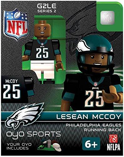 NFL Eagles de Philadelphie LeSean McCoy Gen 2 Mini Figure, Petit