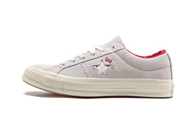 Damen Converse Sneaker X Hello Kitty One Star Schuhe Schwarz