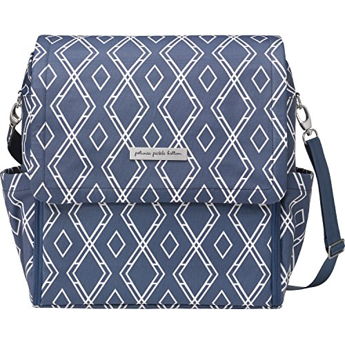 petunia pickle bottom Glazed Boxy Backpack Indigo One Size