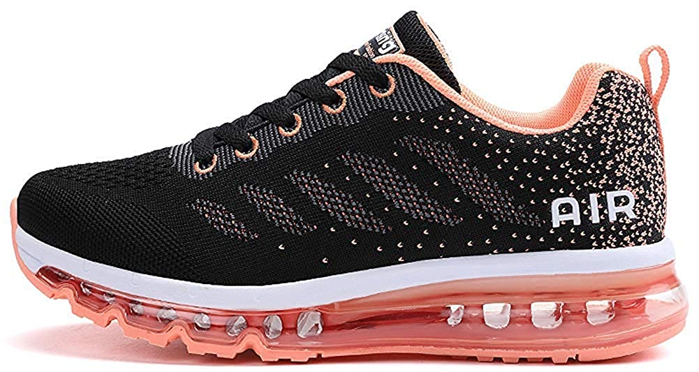 Air Cushion Running Shoes Mens Women Breathable Mesh Sneakers Athletic Cross Training Tennis Sports Shoe for Men Buffer Fashion Casual Walking Shoes