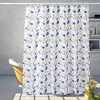 Lush Decor Cynthia Jacobean Shower Curtain 72 Inch X Blue