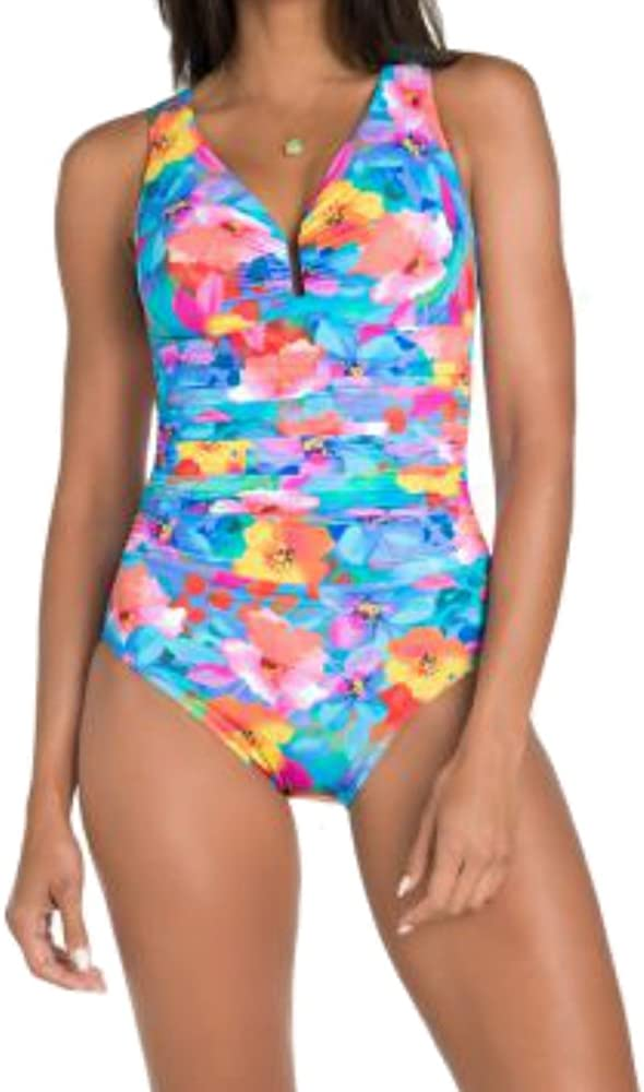 Miraclesuit Womens One Piece Swimsuit Palisades Brights Color