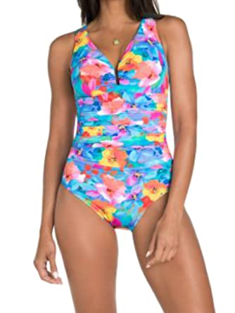 678ff26b80249 Miraclesuit Women's One Piece Swimsuit Palisades Brights Color at ...