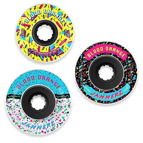 Blood Orange Jammerz Longboard Wheel for Freeriding and Sliding [All Sizes] (69mm)