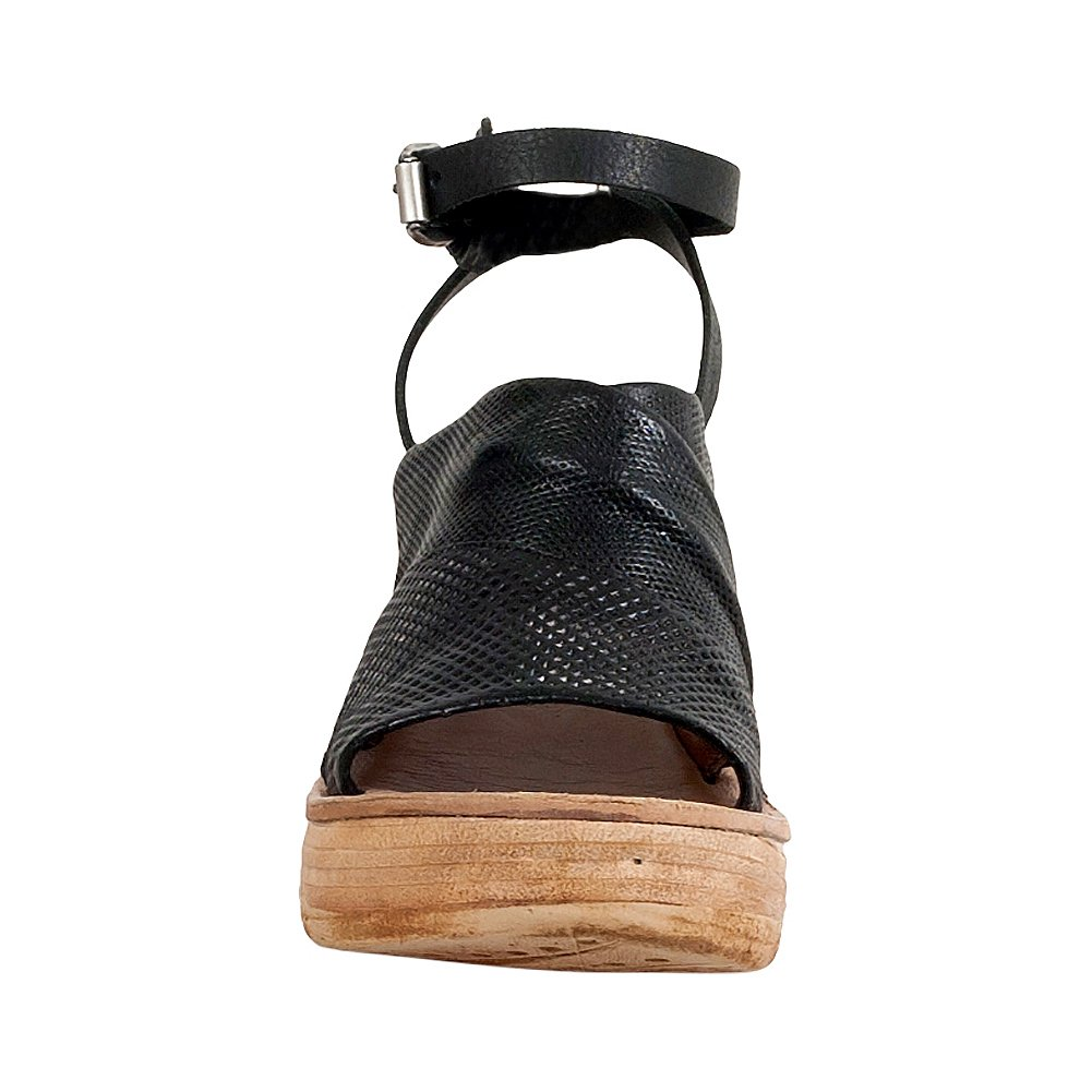 A.S.98 Niall Women's Wedge Sandal B07BSPXQNW 38 M EU|Black
