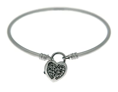 ff8ffa8c1 Pandora Flourishing Heart Padlock LE Bangle Gift Set, B800873-17:  Amazon.co.uk: Jewellery