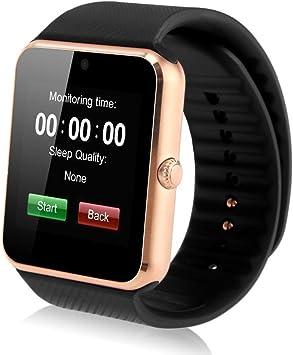 INDI GT08 Reloj Smartwatch Bluetooth Smartwatch Reloj deportivo ...