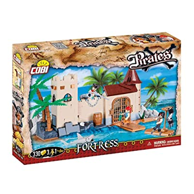 COBI Pirates Fortress Building Kit: Toys & Games