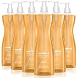 Method Dish Soap Liquid, Plant-Based Dishwashing Liquid that Cuts Through Tough Grease for a Sparkling Clean, Clementine Scen