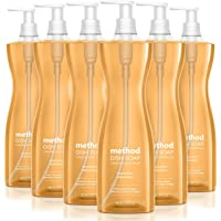 Method Dish Soap, Clementine, 18 Ounces, 6 pack, Packaging May Vary